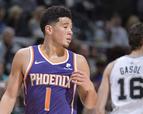 Devin Booker became the youngest player in NBA history to make 500 career three-point attempts.