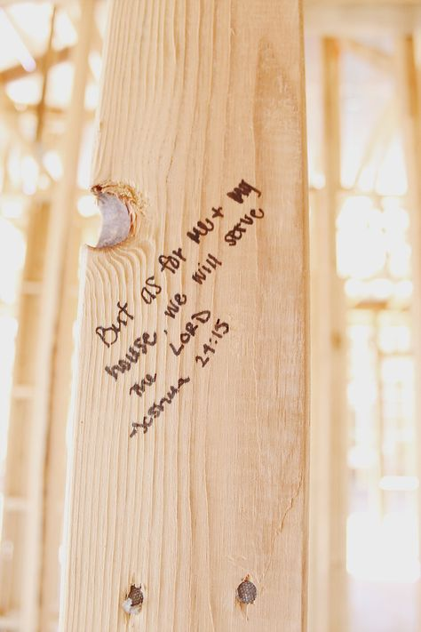 Home Build Update + Framing Bible Verses Biblical Quotes, Bible Verses Quotes, Faith Quotes, Scriptures, House Blessing, New Home Construction, Quotes About God, The Ranch, First Home