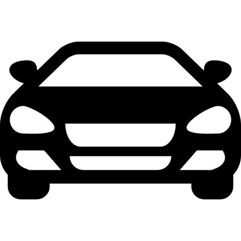 Sedan Car Front Free Vector Icons Designed By Freepik Icon