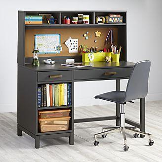 Desk For Kids Kids Cargo Dark Grey Desk Kids Study Desk Bedroom Desk Kids Computer Desk