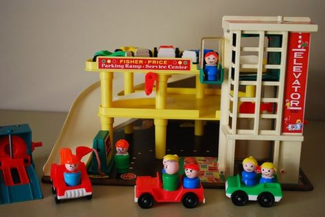 Garage Fisher Price : Garage child of the seventies childhood memories for mark
