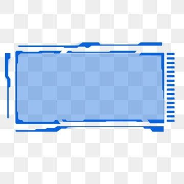 Blue Rectangle Technology Sci Fi Border Dialog Background Material Blue Technology Science Fiction Png Transparent Clipart Image And Psd File For Free Downlo In 2021 Graphic Design Background Templates Technology Theme