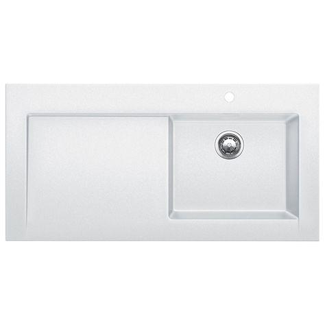 Blanco Modex Single Basin Drop In Kitchen Sink With Drainboard