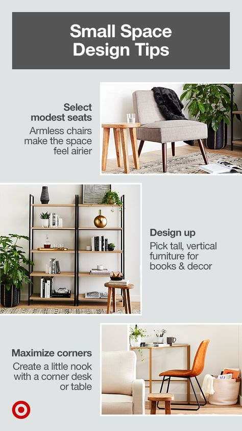 Small Space Design Tips