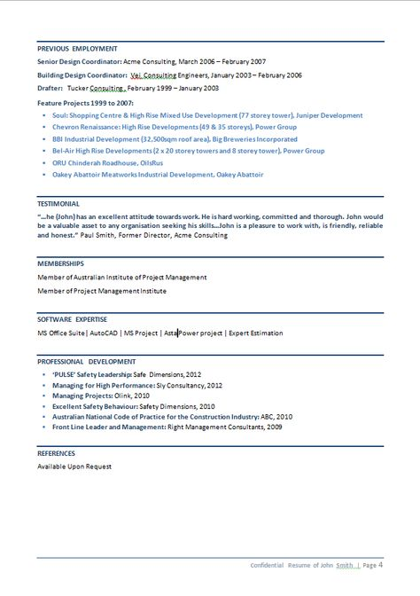 Silver Resume Service Resume Sample - Civil Engineer- if you want - consulting engineer sample resume