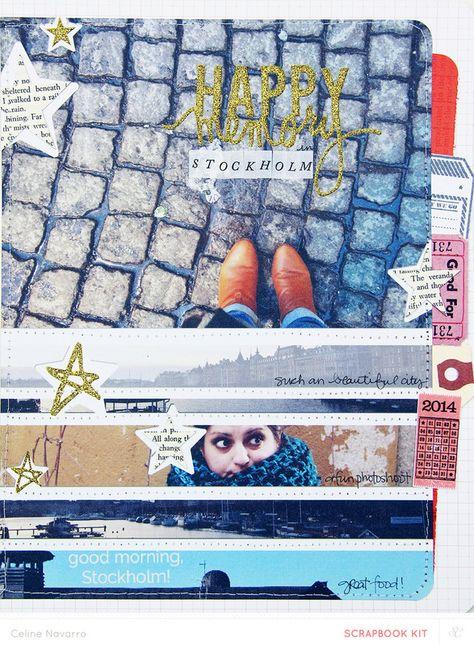 Happy Memory in Stockholm  by celine navarro at @Studio_Calico