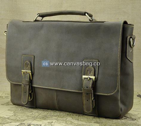 Laptop Shoulder Bag Leather Messenger Bag Leather Bag  58217210dcd34