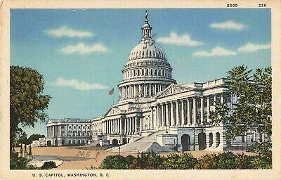 Postcard United States Capitol Building Washington Dc Ebay