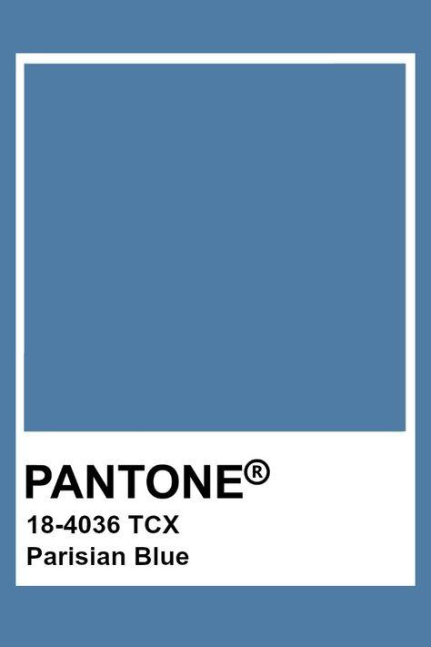 Pantone Parisian Blue