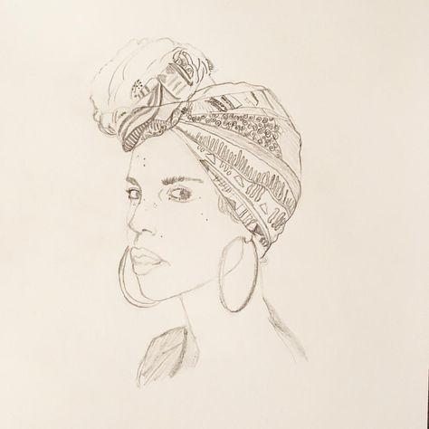 november Woman #draw_something #woman...
