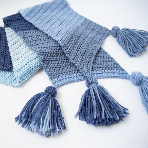 List of Pinterest bernat pop crochet scarf images & bernat pop