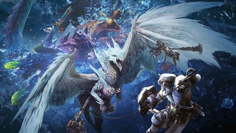 How To Beat Glavenus In Monster Hunter World Iceborne Monster Hunter World Wallpaper Monster Hunter World Monster Hunter