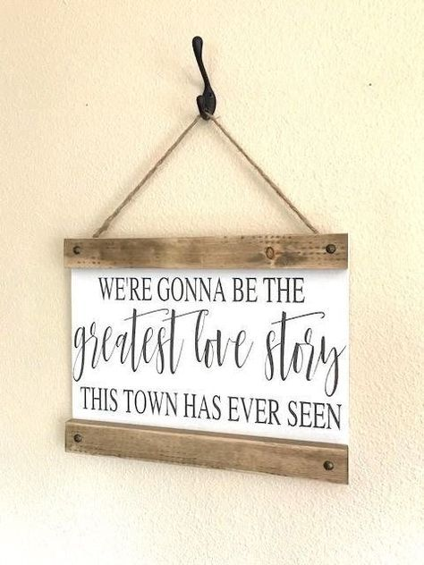 Personalized Anniversary Gifts Farmhouse Decor Entry Way