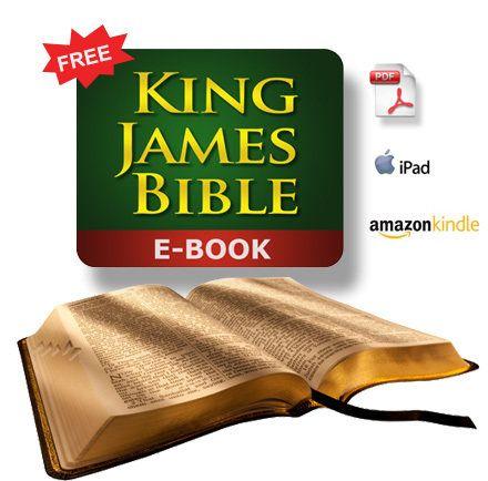 Free KJV Bible Ebook (PDF, EPUB, MOBI, or Word file) | KING