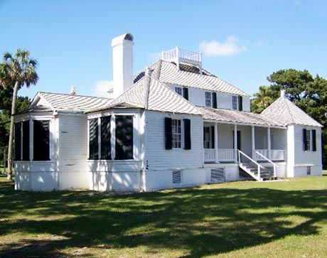 Ghosts of Kingsley Plantation in Jacksonville, FL - This old southern slave plantation is haunted by a number of ghosts from its dark past, including the owner's wife. Find out more at www.FloridaFringeTourism.com