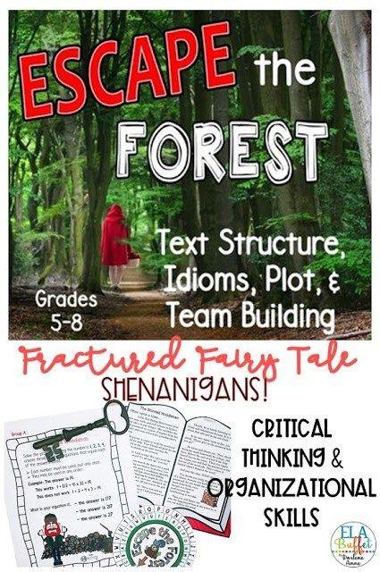 Complete Catalog Of Ela Escape Room Resources Ela Buffet Teaching Literary Elements Teaching Plot Middle School Ela Lessons