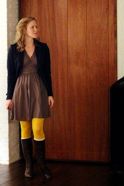 Work it: Workin' yellow legs