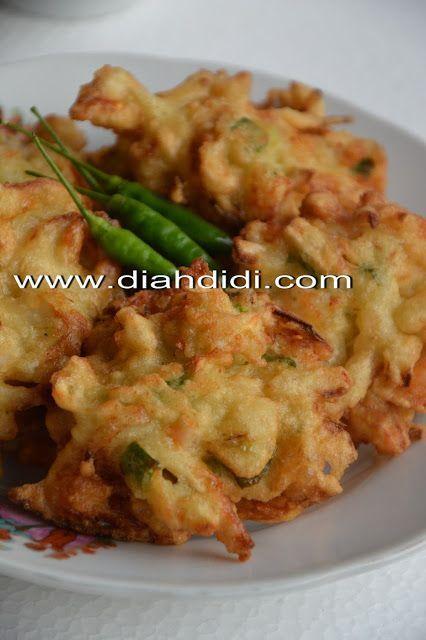 Diah Didi S Kitchen Bakwan Jamur Dan Udang Gurih Dan Yummy Resep Masakan Makan Malam Resep