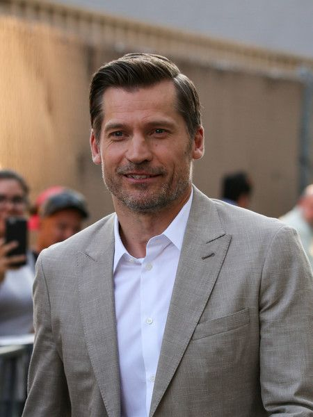 Nikolaj Coster-Waldau is seen at 'Jimmy Kimmel Live'.