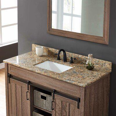 Bestview International Granite 43 Single Bathroom Vanity Top Wayfair Bathroom Bestview Granite In 2020 Bathroom Vanity Tops Bathroom Vanity Single Bathroom Vanity