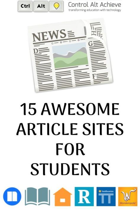 15+ Awesome Article Sites for Students
