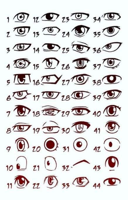 58 Trendy Drawing Tutorial Anime Manga Cartoon Eyes Eye Drawing Drawing Tips Manga Eyes