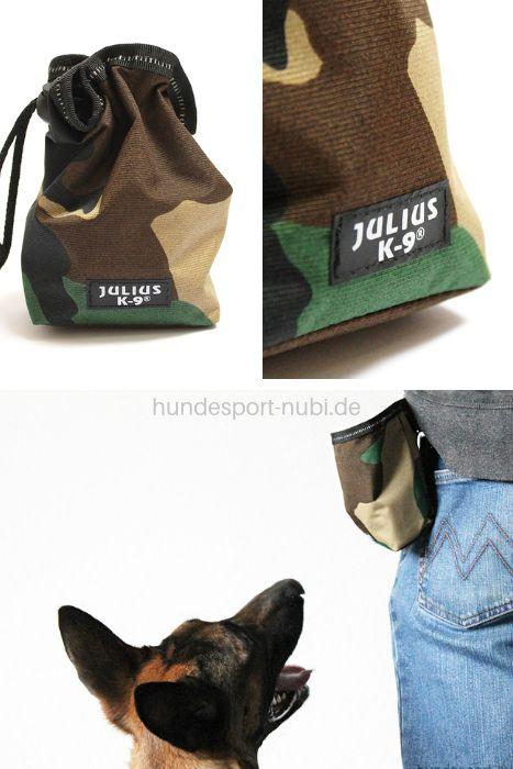 Futterbeutel Mit Gurtelschlaufe In Camouflage Julius K9 Hundesport Hunde Hundchen Training
