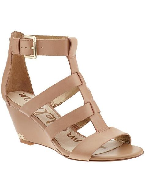 FOUND. { the perfect live-in nude wedge for summer }