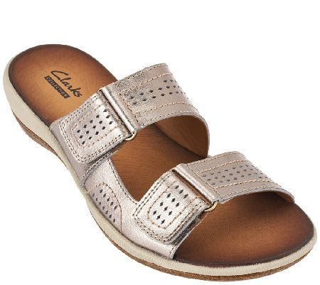 3f5abd04282 Clarks Double Strap Leather Sandals - Taline Pop