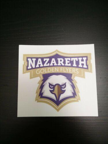 Nazareth College Golden Flyers Sticker Decal 3 Truck Car Laptop Water Bottle In 2020 Flyer Decals Vinyl Decal Stickers