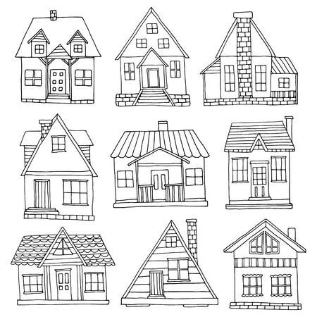 123rf Millions Of Creative Stock Photos Vectors Videos And Music Files For Your Inspiration And Projects House Drawing House Doodle How To Draw Hands