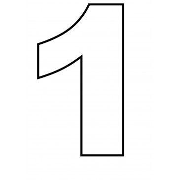 Zahlen In Dina4 Pdf Vorlage Zum Ausrucken Schablonen Zum Ausdrucken Kuchen Schablone Schablonen