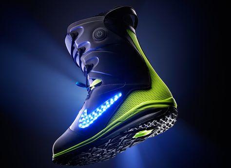 Nike LunarENDOR QS snowboardschoen met LED verlichting