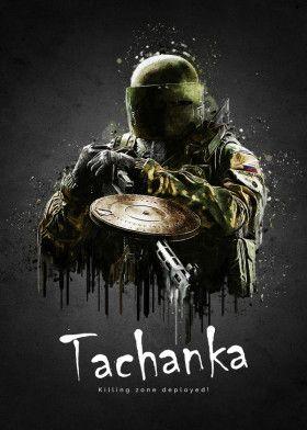 Rainbow Six Siege Tachanka レインボー 美展 レインボーシックスシージ