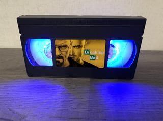 retro con un con VHSFunciona Lámpara hecha a mano vídeo dxtshQrC