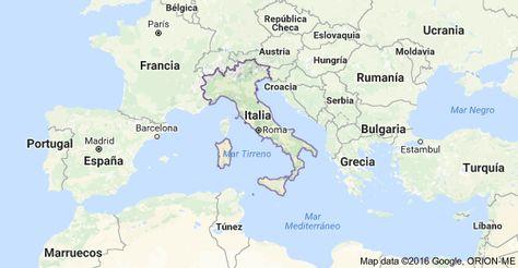 Mapa De Italia Mapa De Italia Italia Eslovaquia