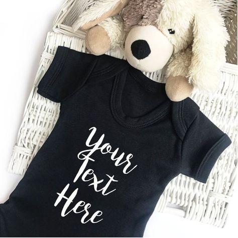 e66356388 Personalized Baby Short Sleeve Bodysuit