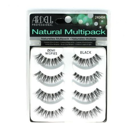 6cb89c6577a Ardell Professional Natural Multipack - Demi Wispies Black (Global Free  Ship)