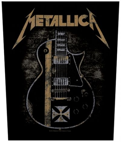 #Dossard METALLICA - Hetfield Iron Cross #metallica www.rockagogo.com