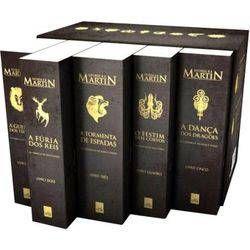Box As Cronicas De Gelo E Fogo Pocket 5 Volumes Com