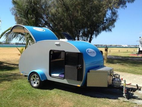 Tsunami Off Road Gallery Teardrop Camper Mini Camper
