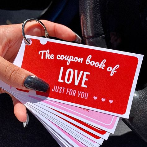 Anniversary gift for him. Naughty love coupons for him. Naughty coupon book for him – Valentine's Day Coupon Books For Boyfriend, Coupons For Boyfriend, Cute Boyfriend Gifts, Anniversary Gift Ideas For Him Boyfriend, Diy Anniversary Gifts For Him, Cute Anniversary Ideas, Valentines Ideas For Boyfriend, Boyfriend Ideas, Diy Gifts For Him