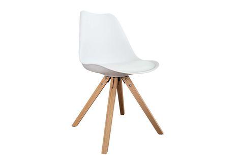 Jedálenské stoličky - moderné : Stolička Sweden NewLook biela