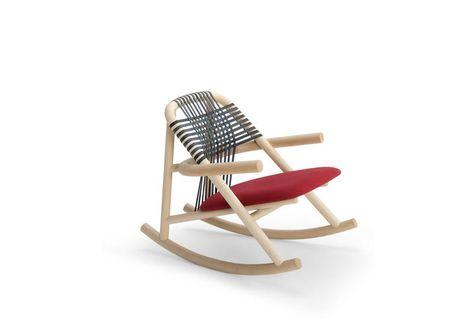 Progetto Sedia A Dondolo.Sedie A Dondolo Di Design Unam Herkner Very Wood Dondolo Sedie