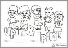 21 Gambar Kartun Upin Ipin Untuk Mewarna 15 Best Coloring Pages Images Coloring Pages Coloring Download Lukisan Untu In 2020 Comics Peace Gesture Romeo And Juliet