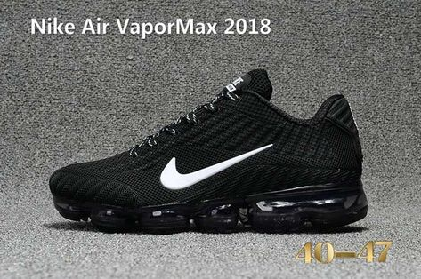 75535541356 Nike Air Vapor MAX 2018 KPU Running Women Men Black White 36-47 in ...