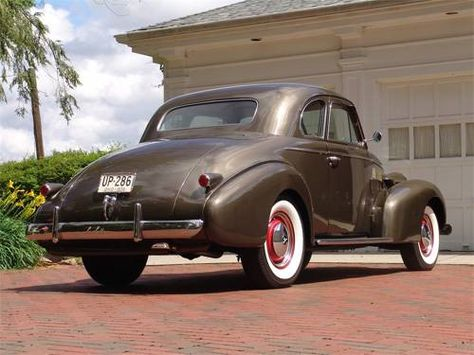 1939 LaSalle Series 50 Opera Coupe