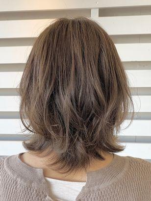 2020年冬 ミディアムの髪型 ヘアアレンジ 人気順 19ページ目
