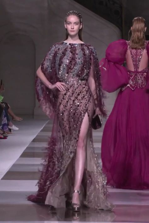 Ziad Nakad Look 34. Fall Winter 2019/2020 Haute Couture Collection