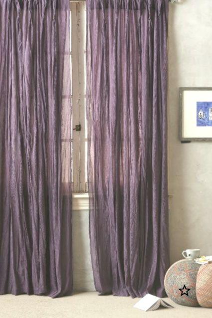 Orlaya Curtain Curtain Orlaya With Images Purple Curtains